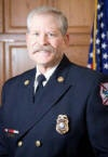 Fire Chief Karl Bauer